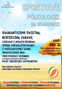 Read more about the article Półkolonie na Stadionie!
