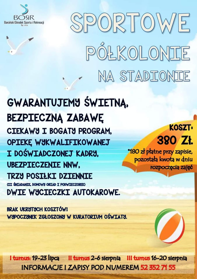 You are currently viewing Półkolonie na Stadionie!