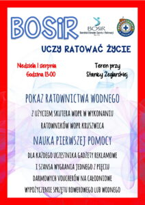 Read more about the article Bosir Uczy Ratować Życie
