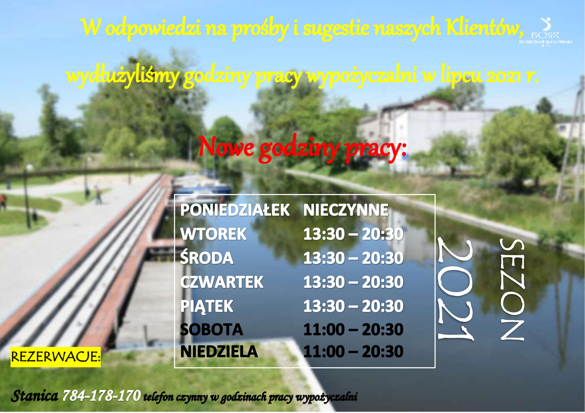 You are currently viewing Nowe godziny pracy Stanicy!