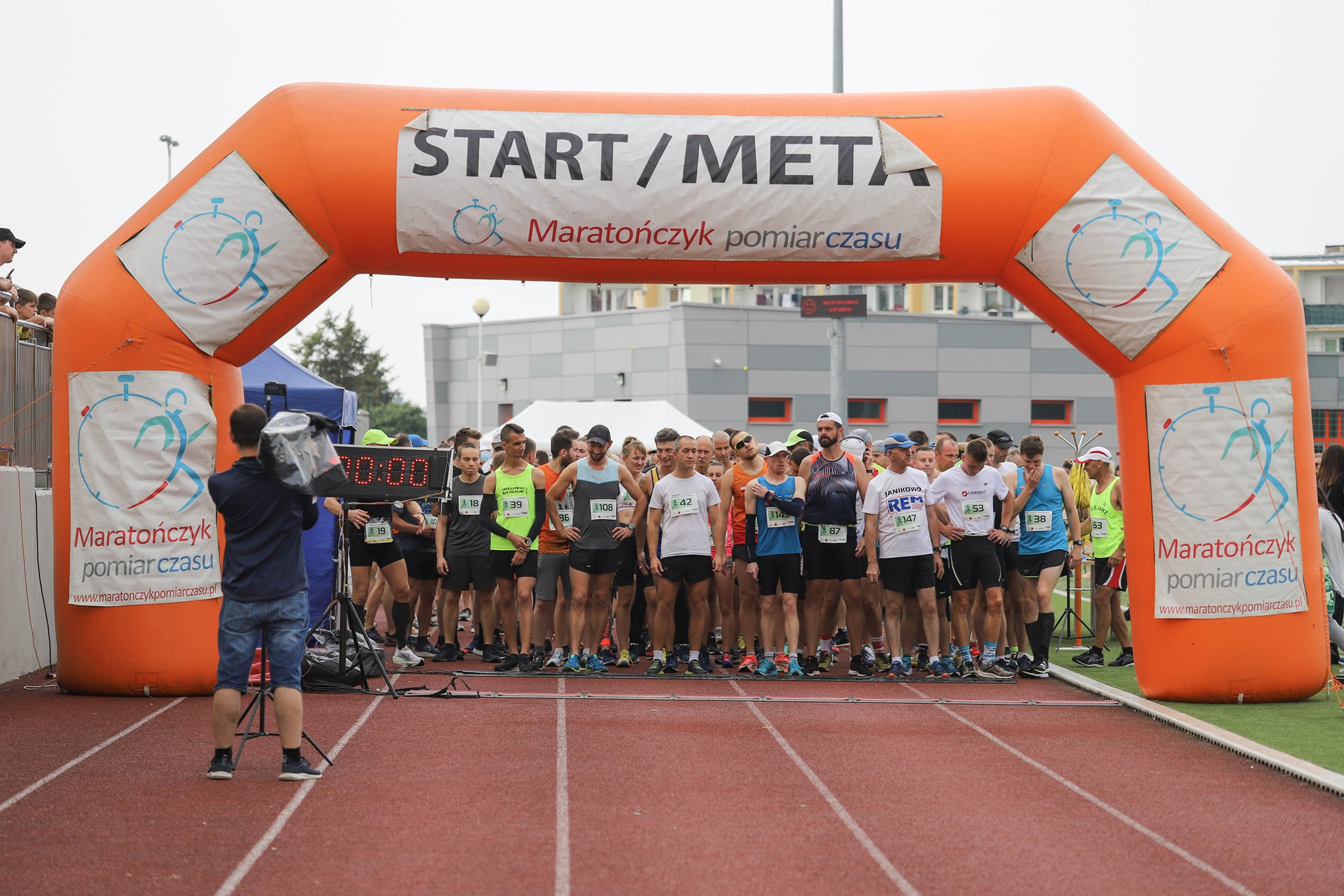 Read more about the article Relacja II Miodowy Festiwal Biegowy
