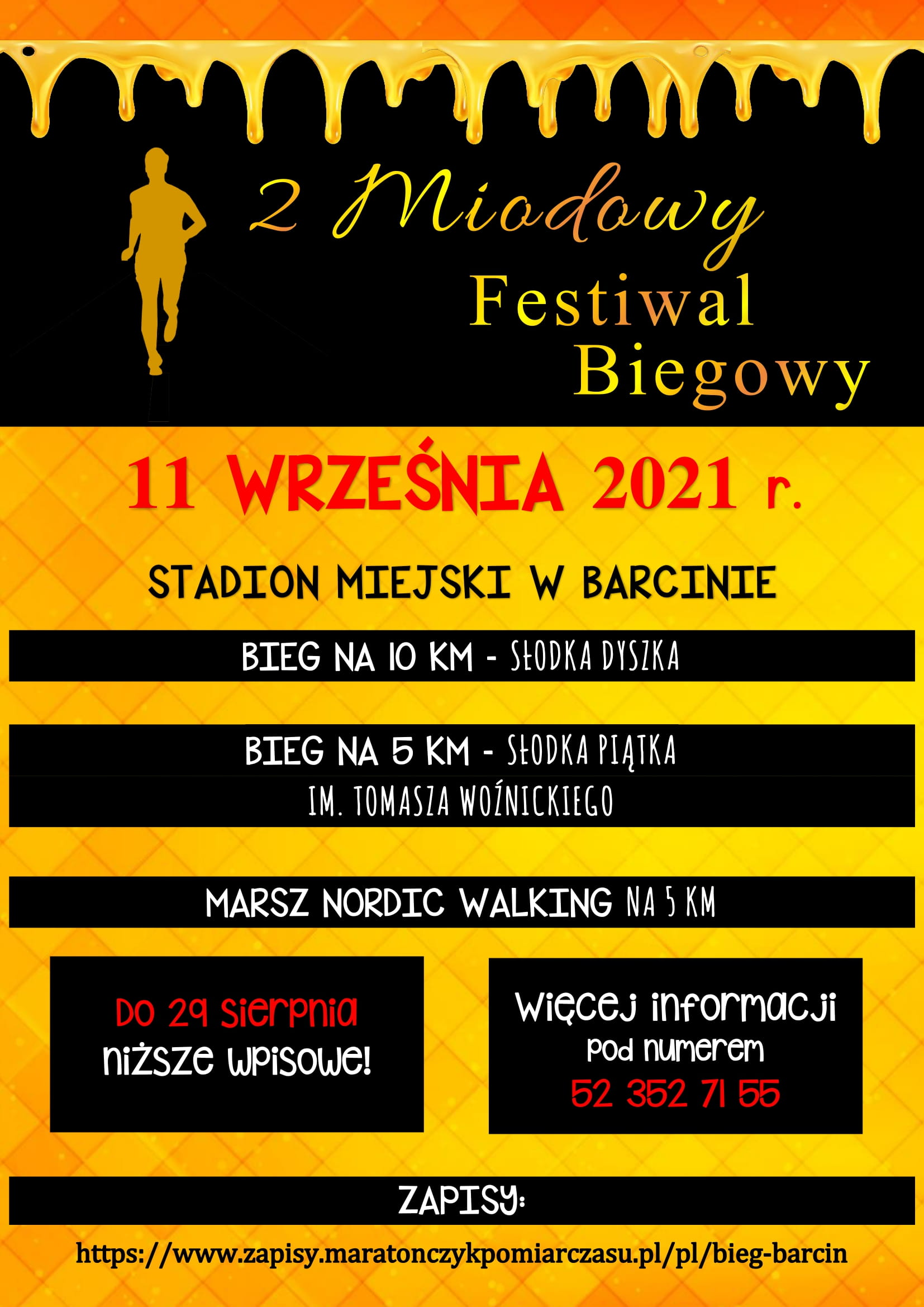 Read more about the article II Miodowt Festiwal Biegowy