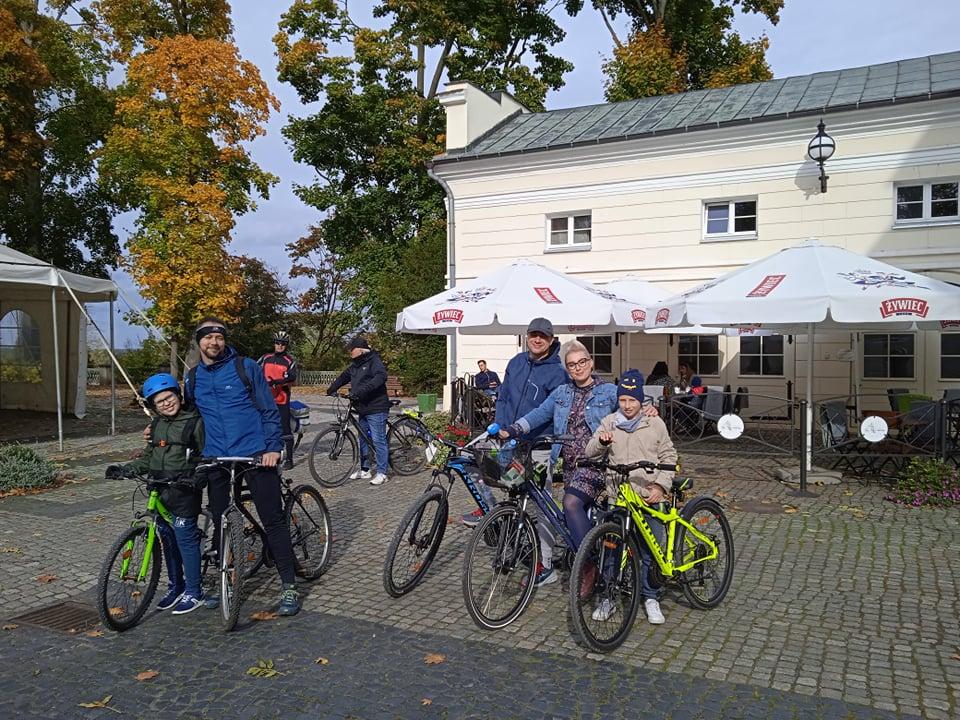 Read more about the article Relacja wycieczka rowerowa 17-10-2021