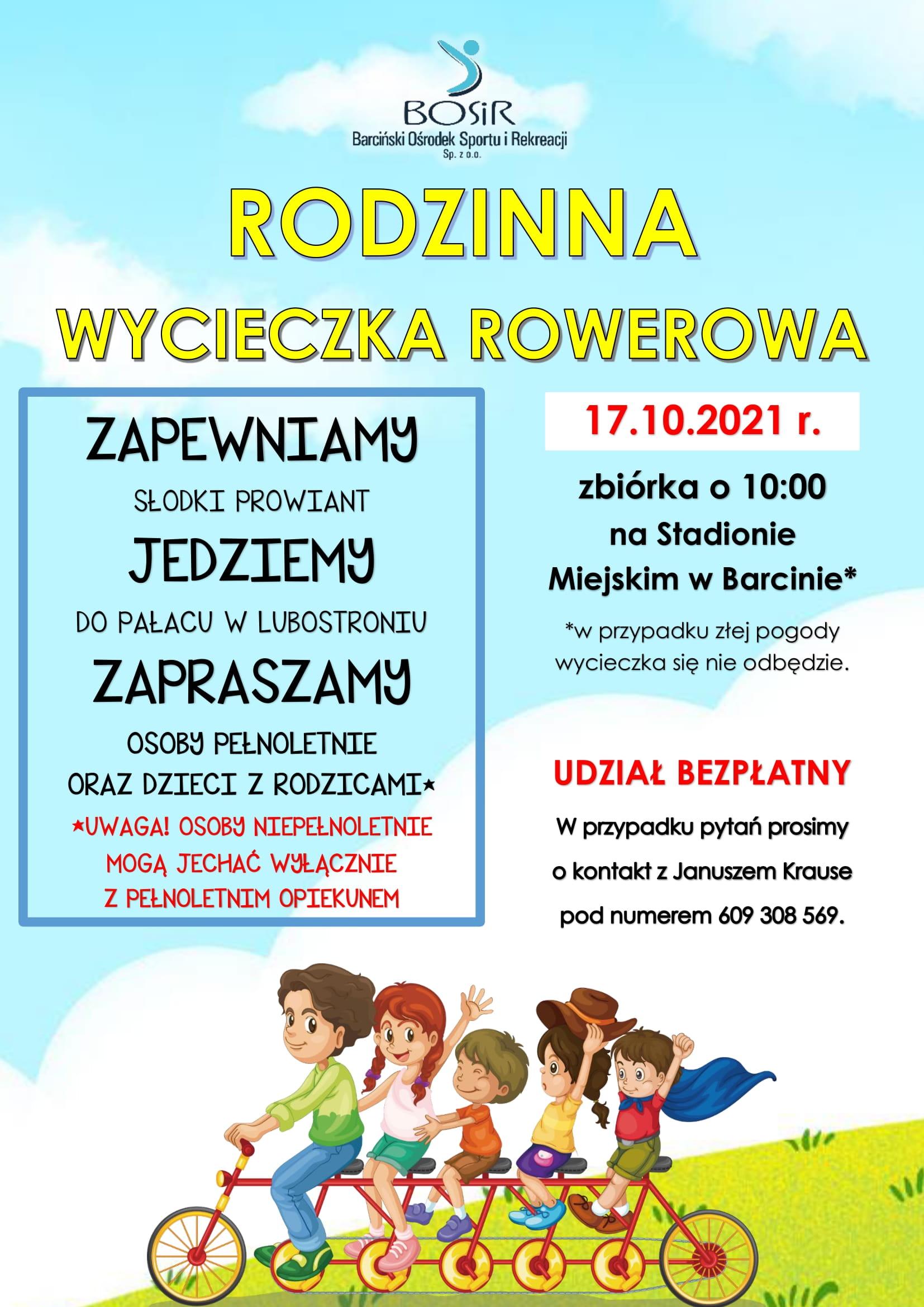 Read more about the article Wycieczka rowerowa!
