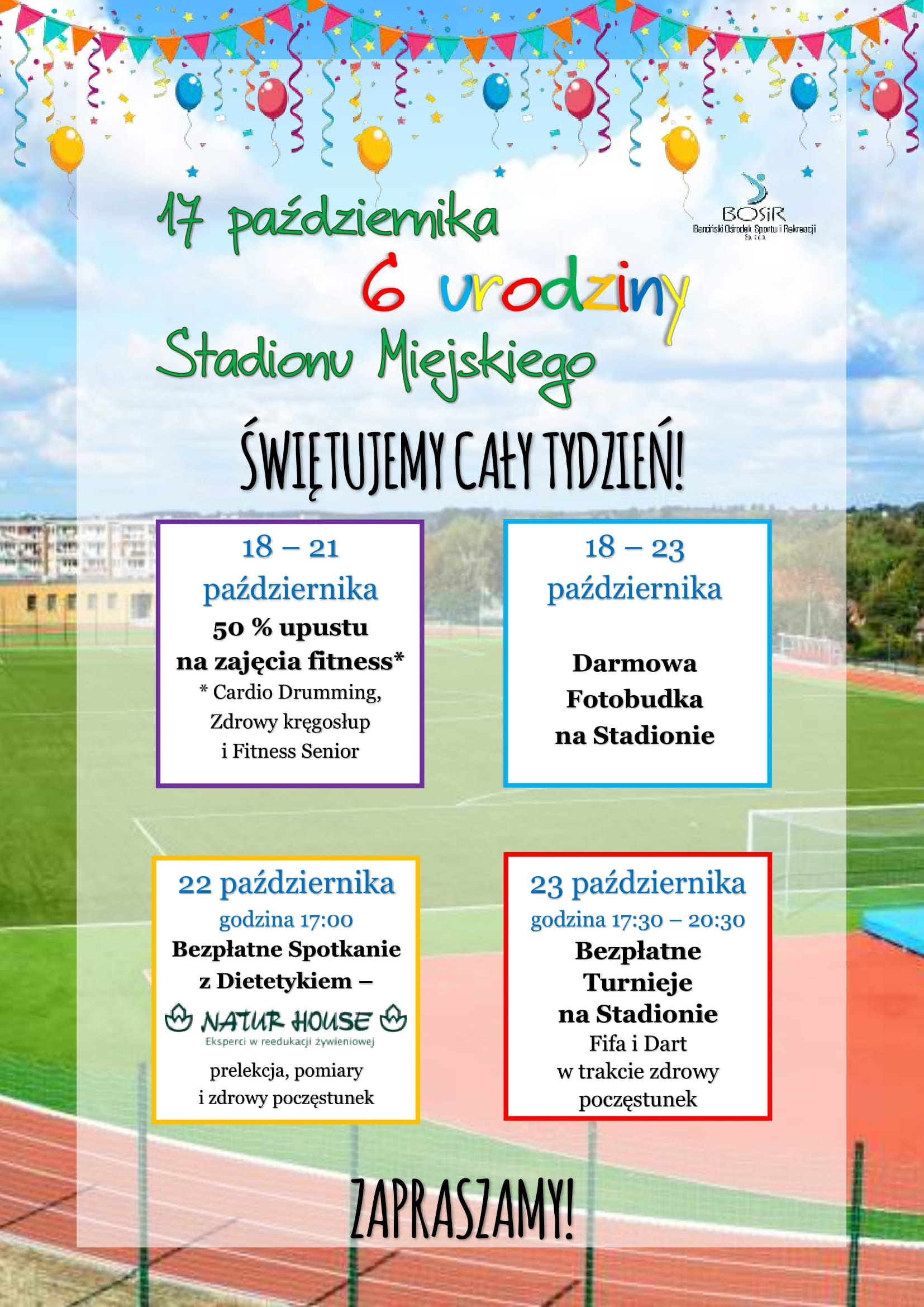 Read more about the article 6 urodziny Stadionu!